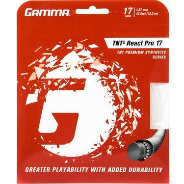Gamma TNT2 React Pro Natural 17G Tennis String