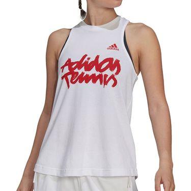 adidas Tennis Tank Womens White GU8859