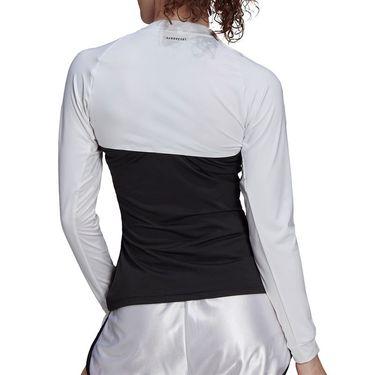adidas Tennis Shrug Top Womens White/Black GV1509