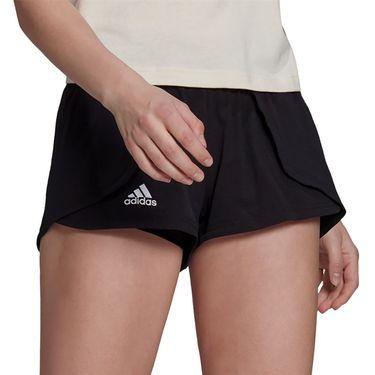 adidas Tennis Match Short Aeroready Womens Black/White GV1522