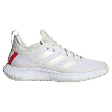 adidas Defiant Generation Mens Tennis Shoe White/Gold Metallic GW5360