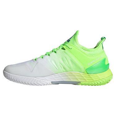adidas Adizero Ubersonic 4 Mens Tennis Shoe Signal Green/Sonic Ink/White GZ8465