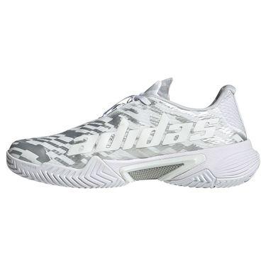 adidas Barricade Womens Tennis Shoe White