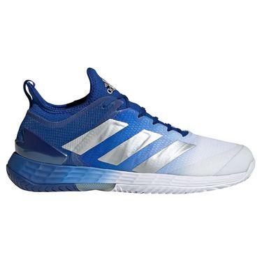 adidas Adizero Ubersonic 4 Mens Tennis Shoe Team Royal Blue/Silver Metallic/White GZ8504