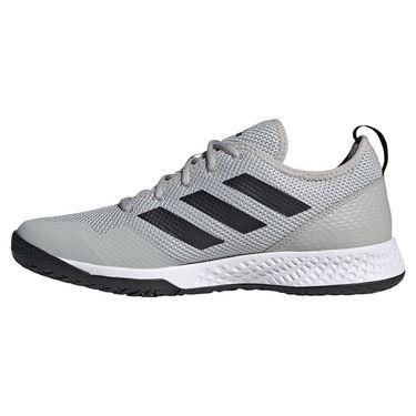 adidas Court Control Mens Tennis Shoe Grey Two/Core Black/White H00939