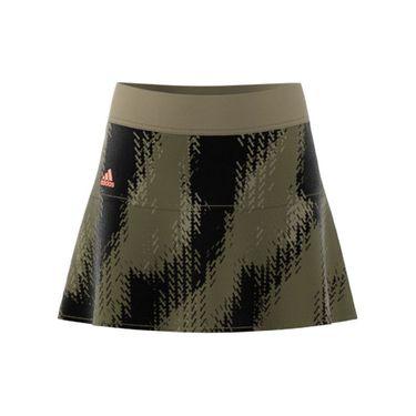 adidas Girls Tennis Printed Match Skirt Orbit Green/Black H15954