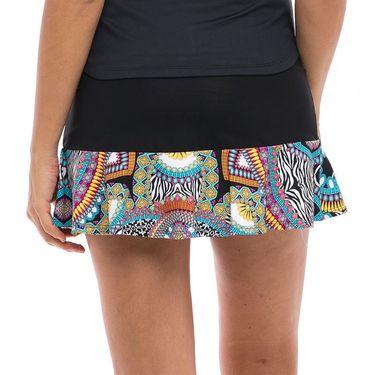 Bluefish Safari Half Skirt Womens Black/Print H1823 BKPû