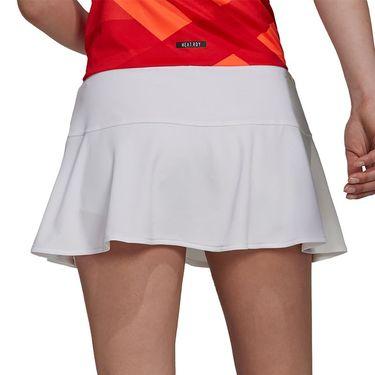 adidas Tennis Tokyo Match Skirt Primeblue Womens White/Black H20353