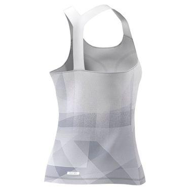 adidas Tennis Tokyo Y Tank Primeblue Womens White/Dash Grey/Black H20354