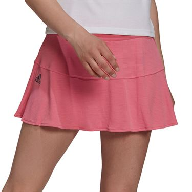 adidas Tennis Match Skirt Aeroready Womens Rose Tone/Black H20988