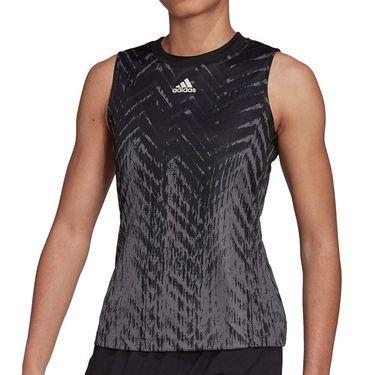adidas Tennis Match Tank Primeblue Womens Carbon H31122