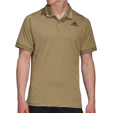adidas Tennis Freelift Primeblue Polo Mens Orbit Green H31374