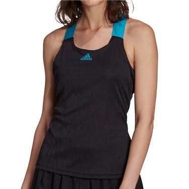 adidas Tennis Y Tank Primeblue Aeroknit Womens Black H31427