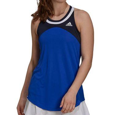 adidas Club Tennis Tank Womens Bold Blue/Legend Ink/White H33700