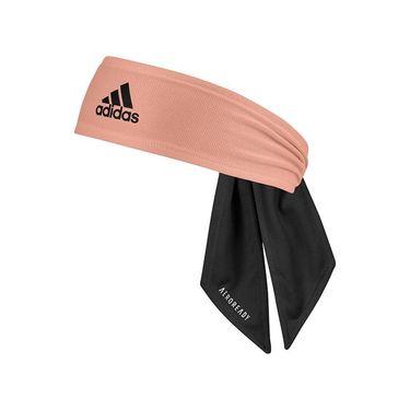 adidas Tennis Reversible Tieband - Black/White/Ambient Blush