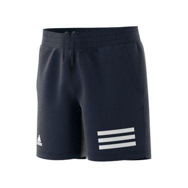 adidas Boys Club 3 Stripe Tennis Shorts Legend Ink/White H34767