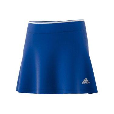 adidas Girls Club Skirt Bold Blue/White H34779