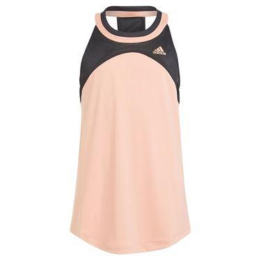 adidas Girls Club Tennis Tank Ambient Blush/Black H34780