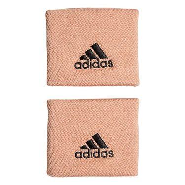 adidas Small Tennis Wristband - Ambient Blush/Black