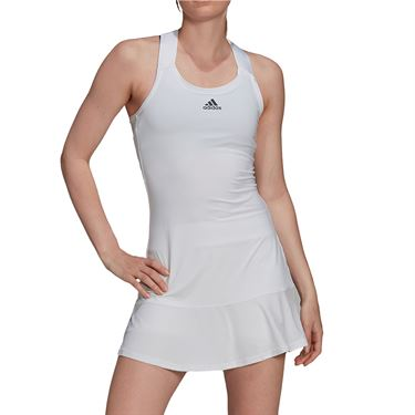 adidas Tennis Y Dress Aeroready Womens White/Black H45387