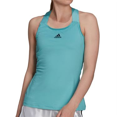 adidas Tennis Y Tank Aeroready Womens Mint Tone/Black H45390