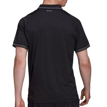 adidas Tennis Freelift Primeblue Polo Mens Black H50264