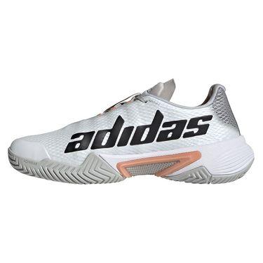 adidas Barricade Womens Tennis Shoe Grey Two/Core Black/Ambient Blush H67699