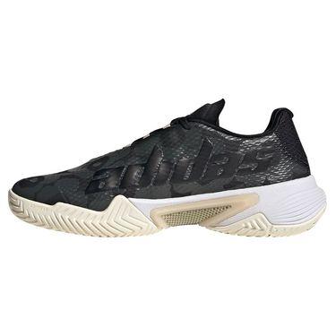 adidas Barricade Womens Tennis Shoe Core Black/Gold Metallic/Carbon H67700