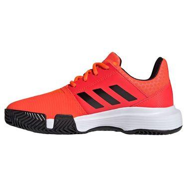 adidas Court Jam Junior Tennis Shoe Solar Red/Core Black/White H68131