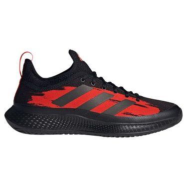 adidas Defiant Generation Mens Tennis Shoe Core Black/Solar Red H69200