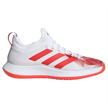 adidas Defiant Generation Mens Tennis Shoe White/Red H69201