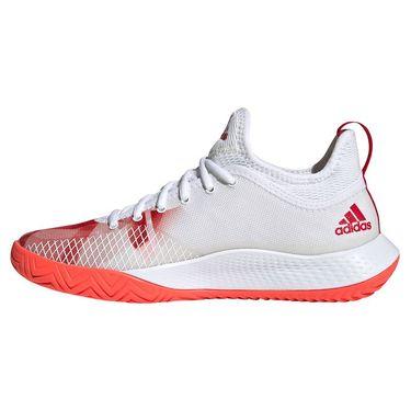 adidas Defiant Generation Womens Tennis Shoe White/Red H69207
