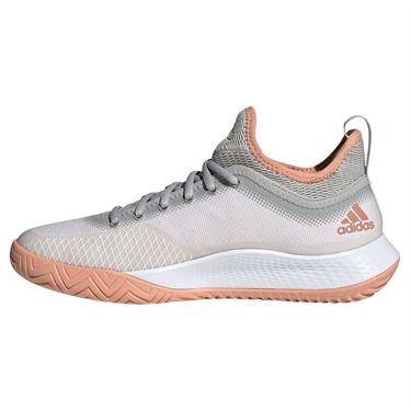 adidas Defiant Generation Womens Tennis Shoe White/Core Black/Ambient Blush H69208