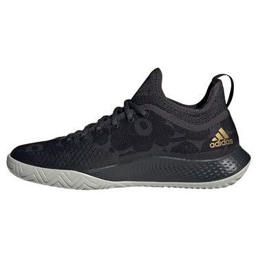 adidas Defiant Generation Womens Tennis Shoe - Carbon/Gold Metallic/Core Black