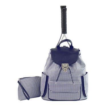 Court Couture Hampton Houndstooth Tennis Bag - Blue