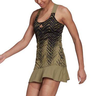 adidas Tennis Dress Primeblue Womens Orbit Green HB6189