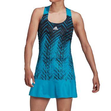 adidas Tennis Dress Primeblue Womens Sonic Aqua HB6190