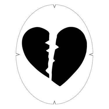 Tourna Heart Breaker Stencil