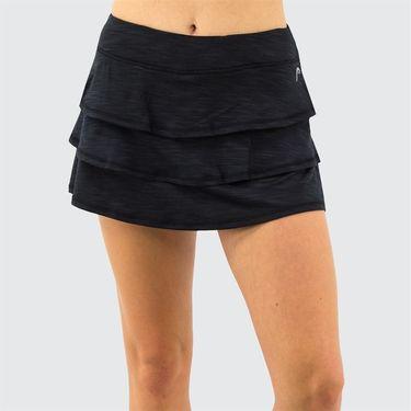 Head Scallop Skirt Womens Black HEW193SD02 S143û