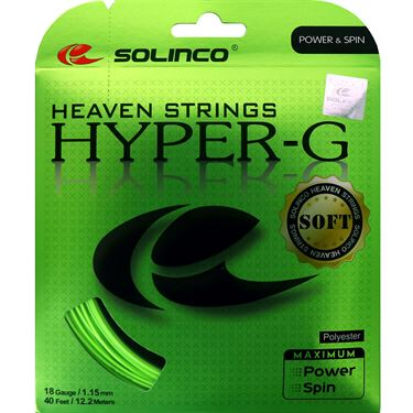 Solinco Hyper-G SOFT 18 (1.15) Tennis String