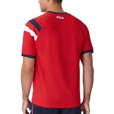 Fila Heritage Roger Ragland Shirt Mens Red LM118978622û
