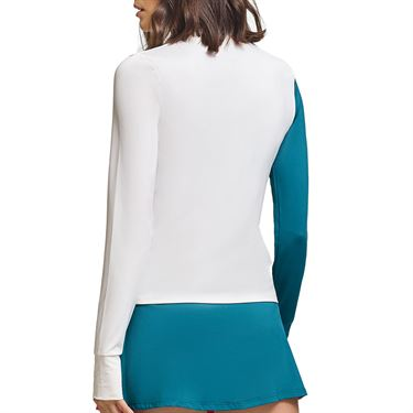 Eleven Legacy Off To The Races Long Sleeve Top Womens Classic Kelly LS248 345