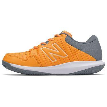 New Balance 696v4 (4E) Mens Tennis Shoe - Orange/Grey