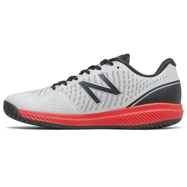 New Balance 796v2 (D) Mens Tennis Shoe - White/Black/Red