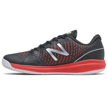 New Balance 796v2 (D) Mens Tennis Shoe - Black/Red