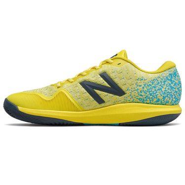 New Balance 996v4 (2E) Mens Tennis Shoe - Yellow/Blue