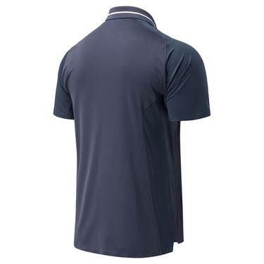 New Balance Tournament Polo Shirt Mens Thunder MT01405 AUS