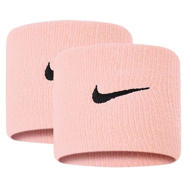 Nike Tennis Premier Wristbands - Coral/Black