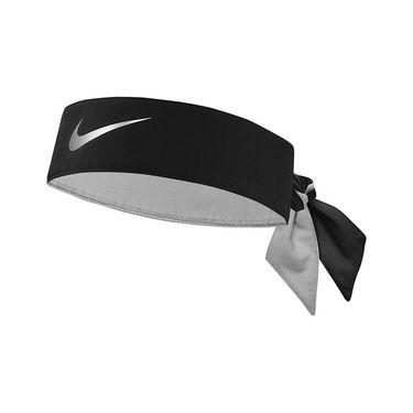 Nike Tennis Headband - Black/Metallic Silver