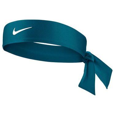 Nike Tennis Graphic Headband - Green Abyss/White